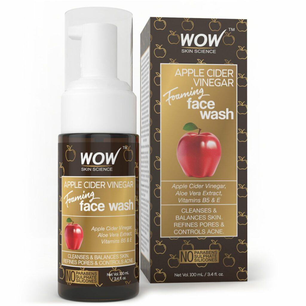 WOW Apple Cider Vinegar Foaming Face Wash