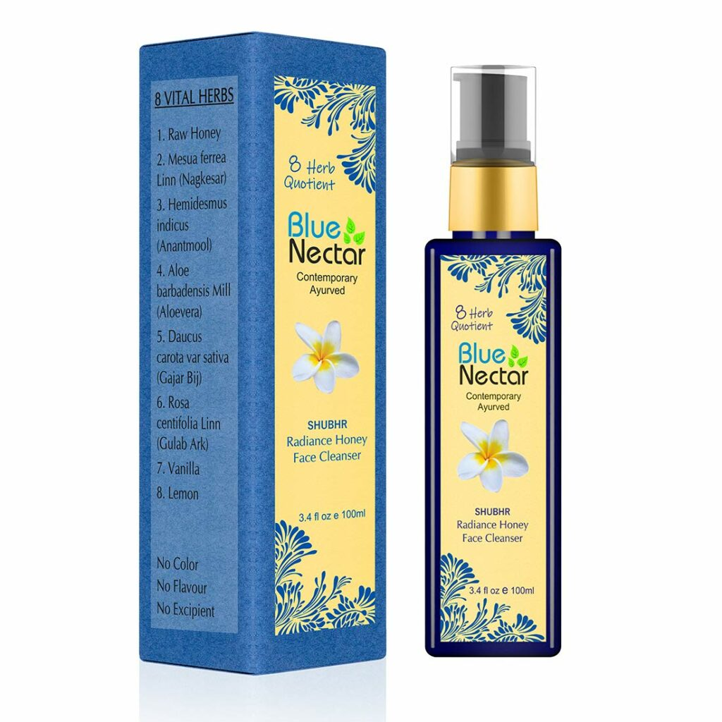 Blue Nectar Ayurvedic Acne Face Wash