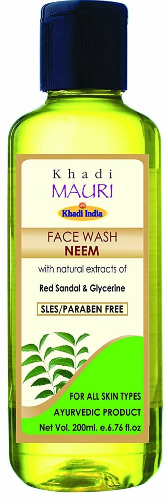 Khadi Mauri Herbal Neem Face Wash