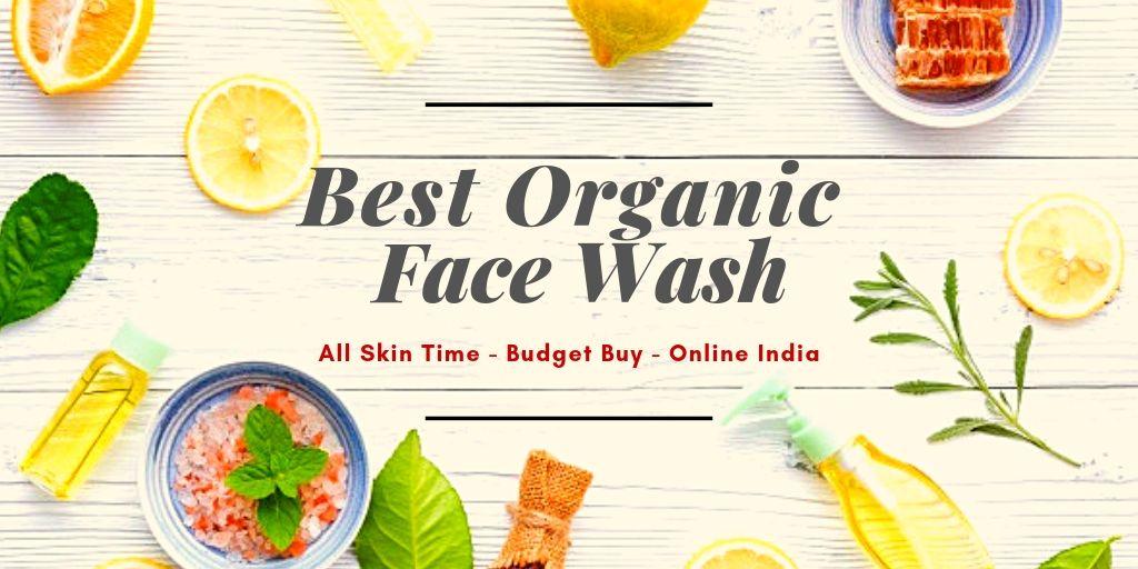 best organic face wash india